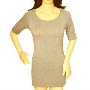 EUC Heather Grey Maternity Tunic!